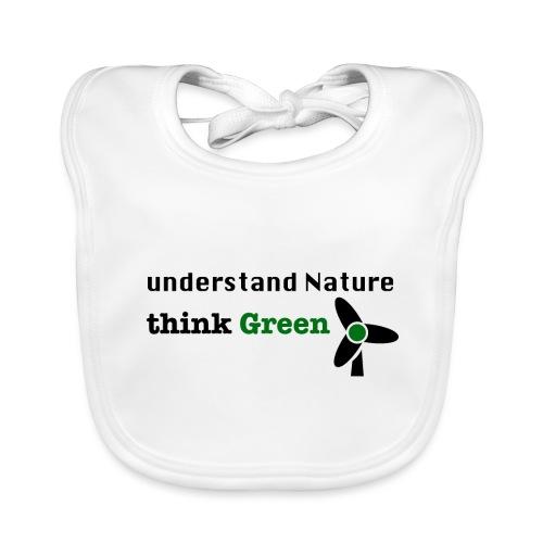 Understand Nature. Think Green! - Baby Organic Bib