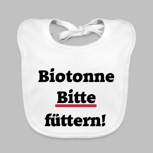 Biotonne - Bitte füttern! - Baby Bio-Lätzchen