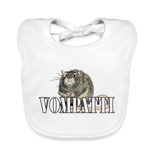 Vompatti - Vauvan luomuruokalappu