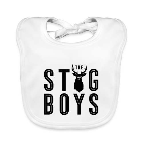 THE STAG BOYS - Baby Organic Bib