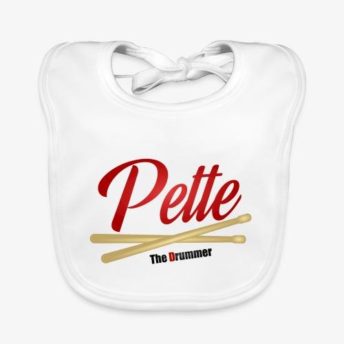 Pette the Drummer - Baby Organic Bib