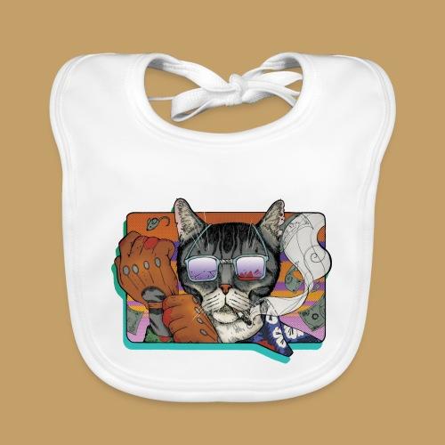 Crime Cat in Shades - Ekologiczny śliniaczek