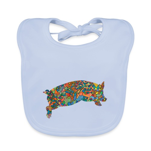Time for a lucky jump - Baby Organic Bib