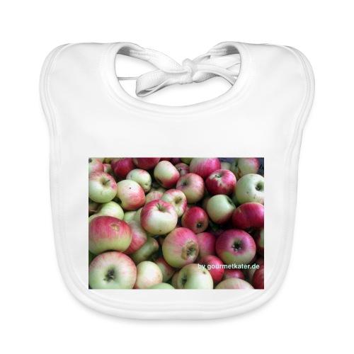 Äpfel - Baby Bio-Lätzchen