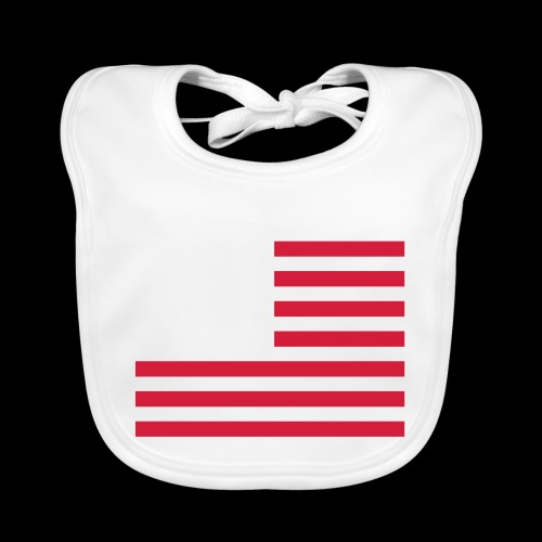 stars and stripes part2 - Baby Organic Bib