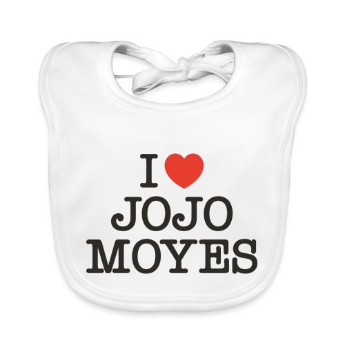 I LOVE JOJO MOYES - Hagesmække af økologisk bomuld