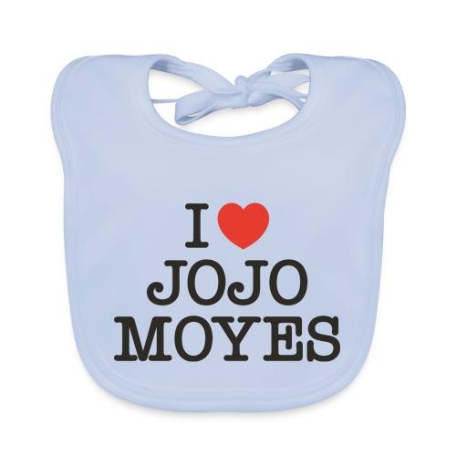 I LOVE JOJO MOYES - Baby økologisk hagesmæk