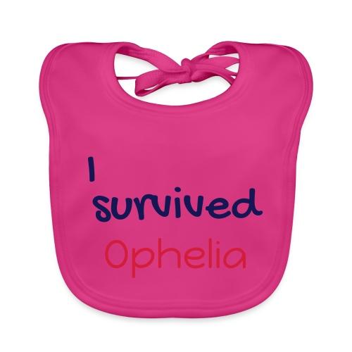 ISurvivedOphelia - Baby Organic Bib