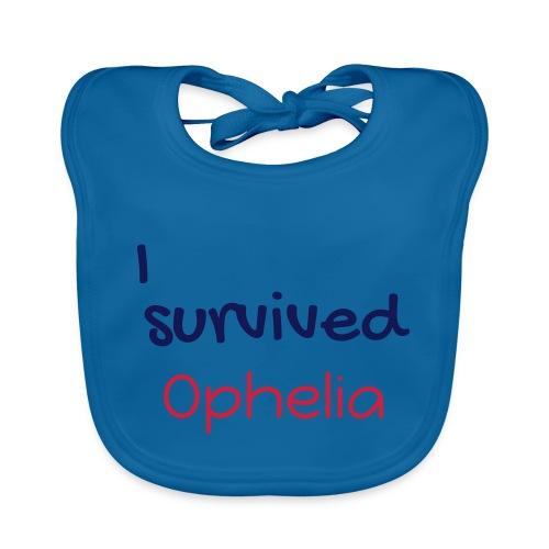 ISurvivedOphelia - Organic Baby Bibs