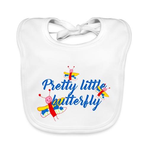 Butterfly, blue - Bio-slabbetje voor baby's