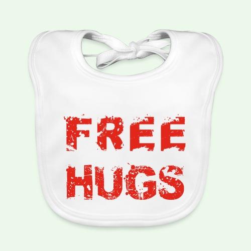 Free Hugs // Flirten // T-Shirt - Baby Bio-Lätzchen