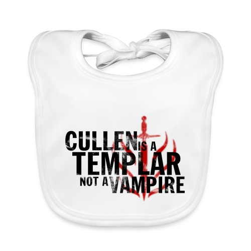 Cullen is a Templar Design - Baby Organic Bib