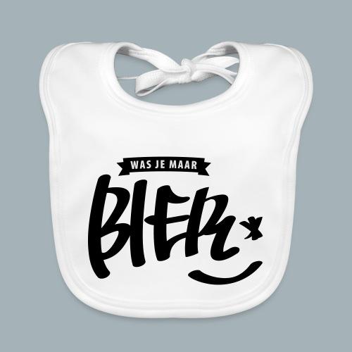 Bier Premium T-shirt - Bio-slabbetje voor baby's