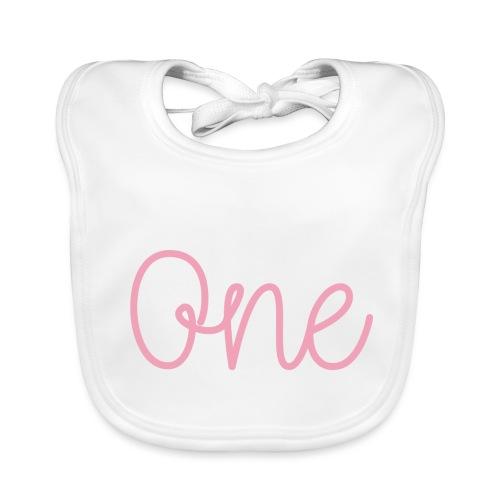 One pink - Baby Organic Bib