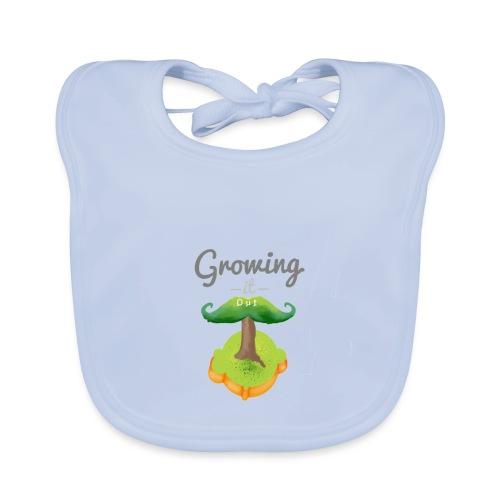 Moustache tree - Baby Organic Bib