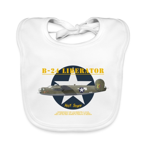 B-24 Hot Stuff - Baby Organic Bib