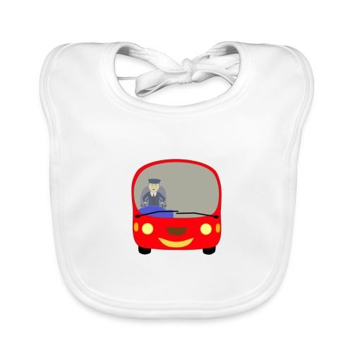 bus front - Organic Baby Bibs