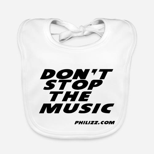 dontstopthemusic - Baby Organic Bib