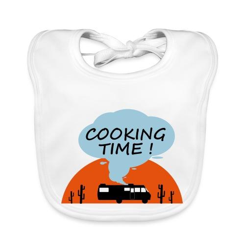 Cooking Time - Bavoir bio Bébé