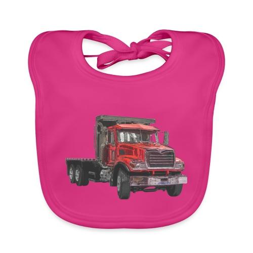 Flat Truck 3-axle - Red - Baby Organic Bib