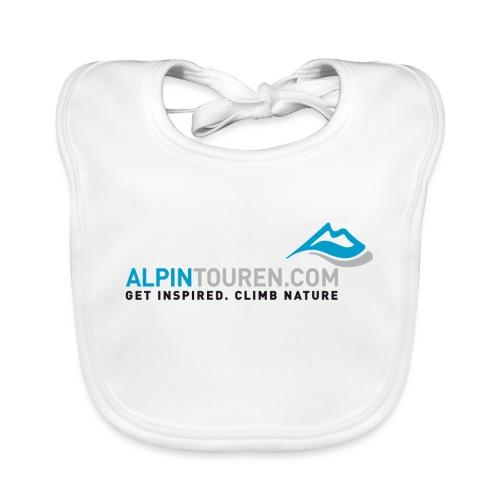 Alpintouren Logo - Baby Bio-Lätzchen