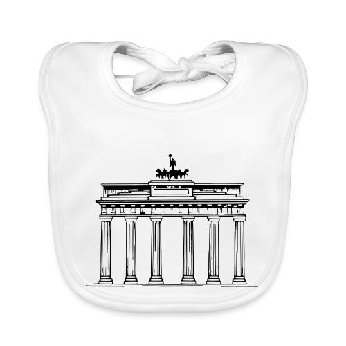 Brandenburger Tor Berlin Victoria Streitwagen - Baby Bio-Lätzchen