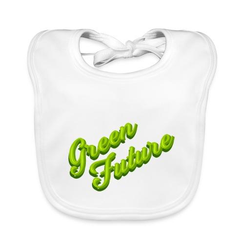 Nature Green Future - Typo - Baby Bio-Lätzchen