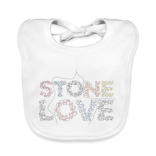Stone Love Fontainebleau - Baby Bio-Lätzchen