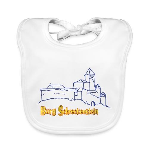 Kinder Kapuzenpullover - Burg Schreckenstein - Baby Bio-Lätzchen