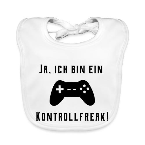 Gamer Controller Kontrollfreak - Baby Bio-Lätzchen