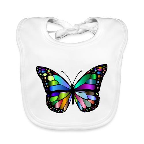 Kolorwy Motyl - Ekologiczny śliniaczek