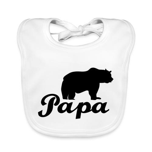 papa beer - Bio-slabbetje voor baby's