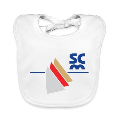 Modernes SCM Logo - Baby Bio-Lätzchen