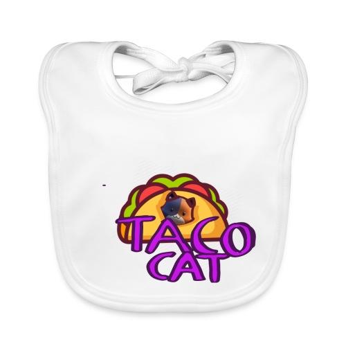TACO CAT - Ekologisk babyhaklapp