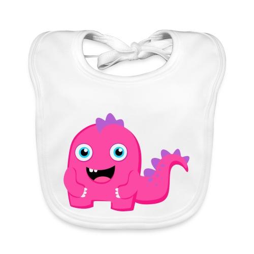 Little Monster - Babero de algodón orgánico para bebés