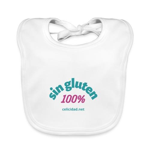 Sin Gluten 100% - Babero de algodón orgánico para bebés
