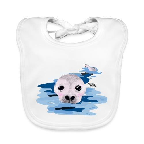 Lieve otter - Bavoir bio Bébé