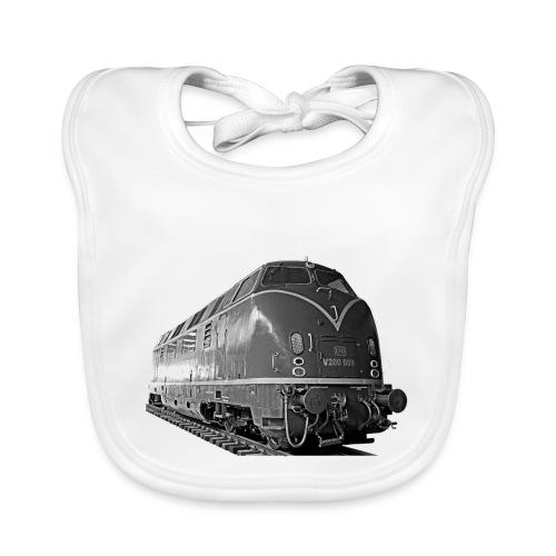 Diesel Lokomotive V 200 Deutsche Bundesbahn - Baby Bio-Lätzchen