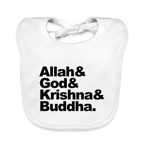 godsdiensten - Bio-slabbetje voor baby's