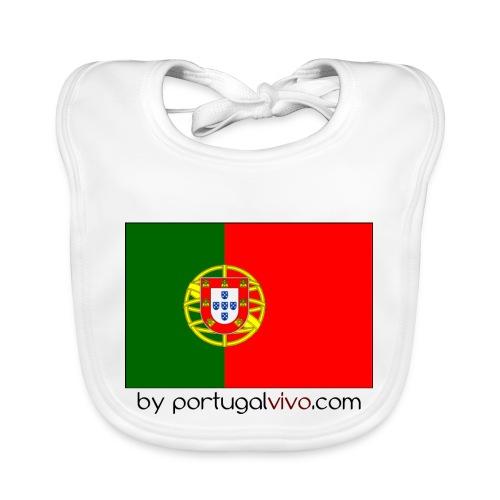 Drapeau Portugal - Bavoir bio Bébé