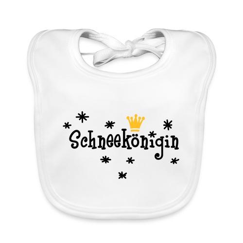 Schneekönigin, Apres Ski Shirt - Baby Bio-Lätzchen