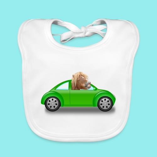Poney voiture - Bavoir bio Bébé