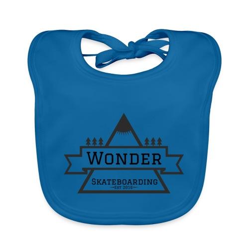 Wonder T-shirt: mountain logo - Hagesmække af økologisk bomuld