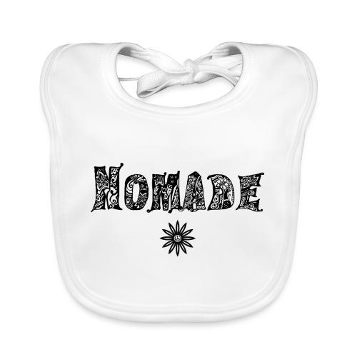 Nomade (en noir) - Bavoir bio Bébé
