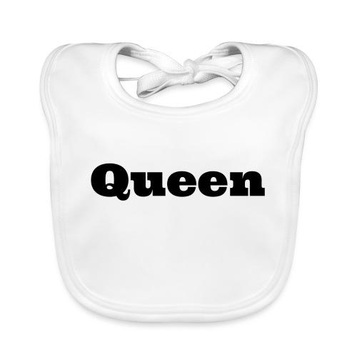 Snapback queen rood/zwart - Bio-slabbetje voor baby's