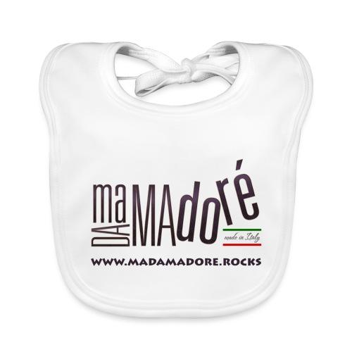 T-Shirt Premium - Donna - Logo Standard + Sito - Bavaglino