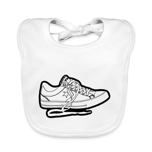 sneaker1 - Ekologisk babyhaklapp