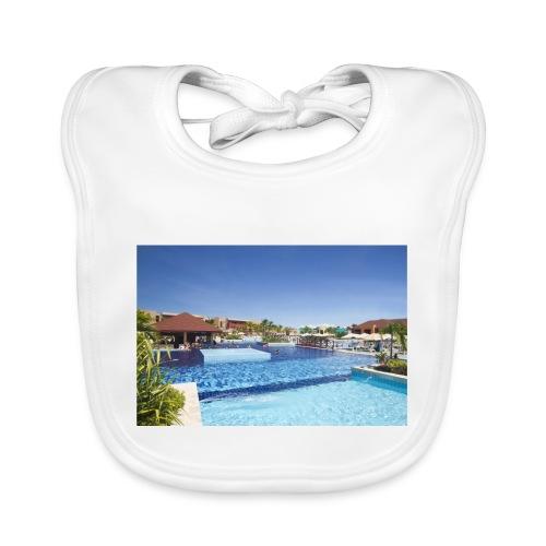 splendide piscine - Bavoir bio Bébé