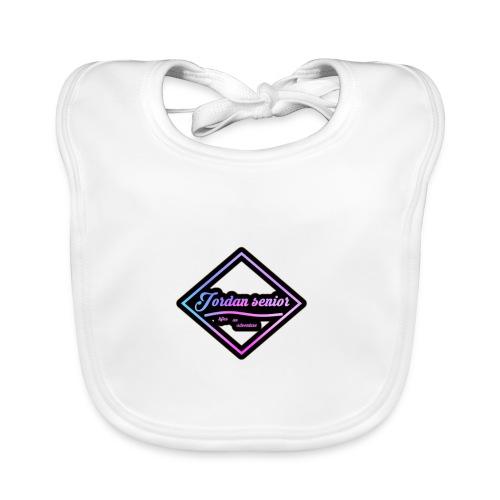 jordan sennior logo - Organic Baby Bibs