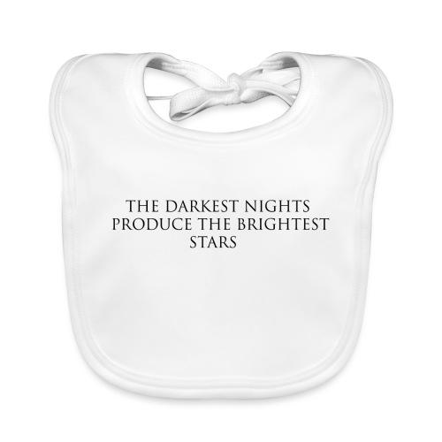 Night_B - Ekologisk babyhaklapp